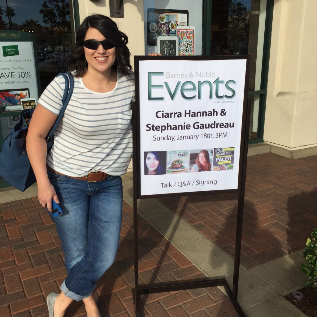 2015 Book Tour with Steph Gaudreau for Frugal Paleo Cookbook