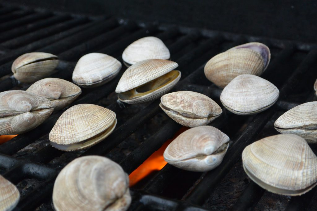 Clams on the Grill   TheColacinoKitchen.com (c) 2021
