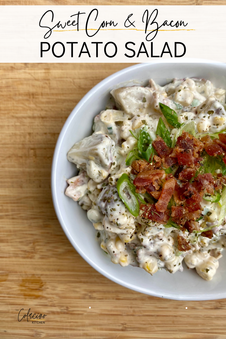 Sweet Corn & Bacon Potato Salad